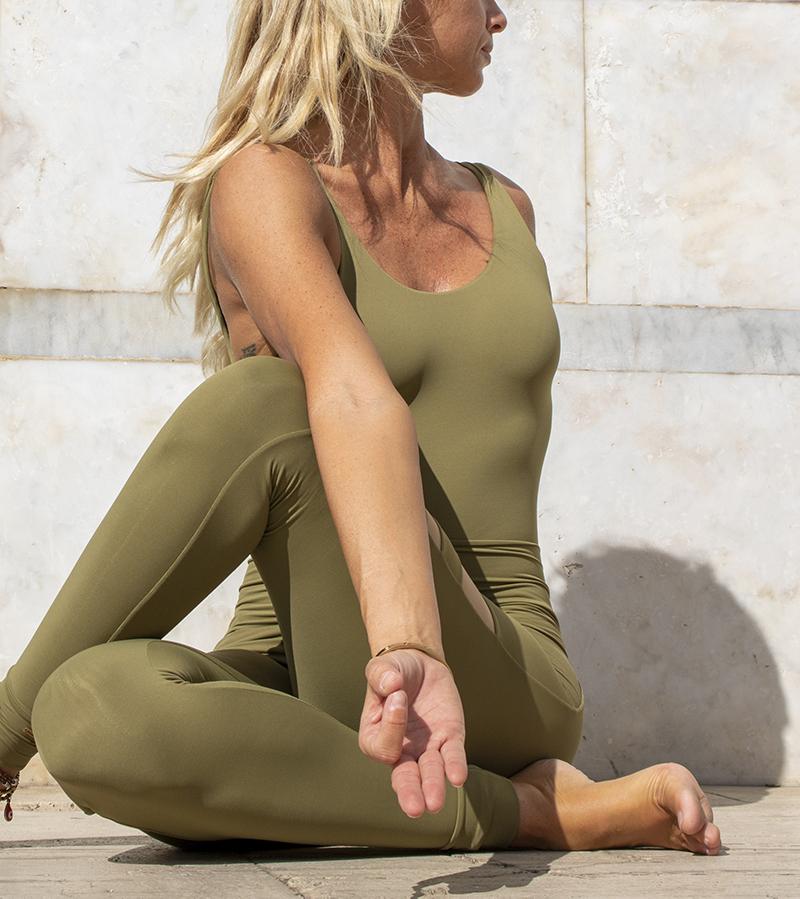 Completo Yoga Body Diana Leggings Aura Terra