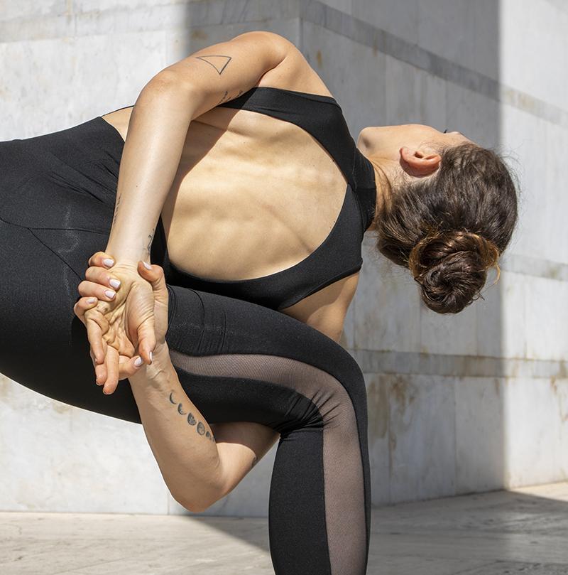 Completo Yoga Body Flora Leggings Olimpia Aria