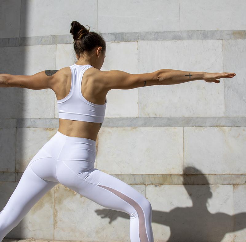 Completo Yoga Top Clio Leggings Olimpia Etere