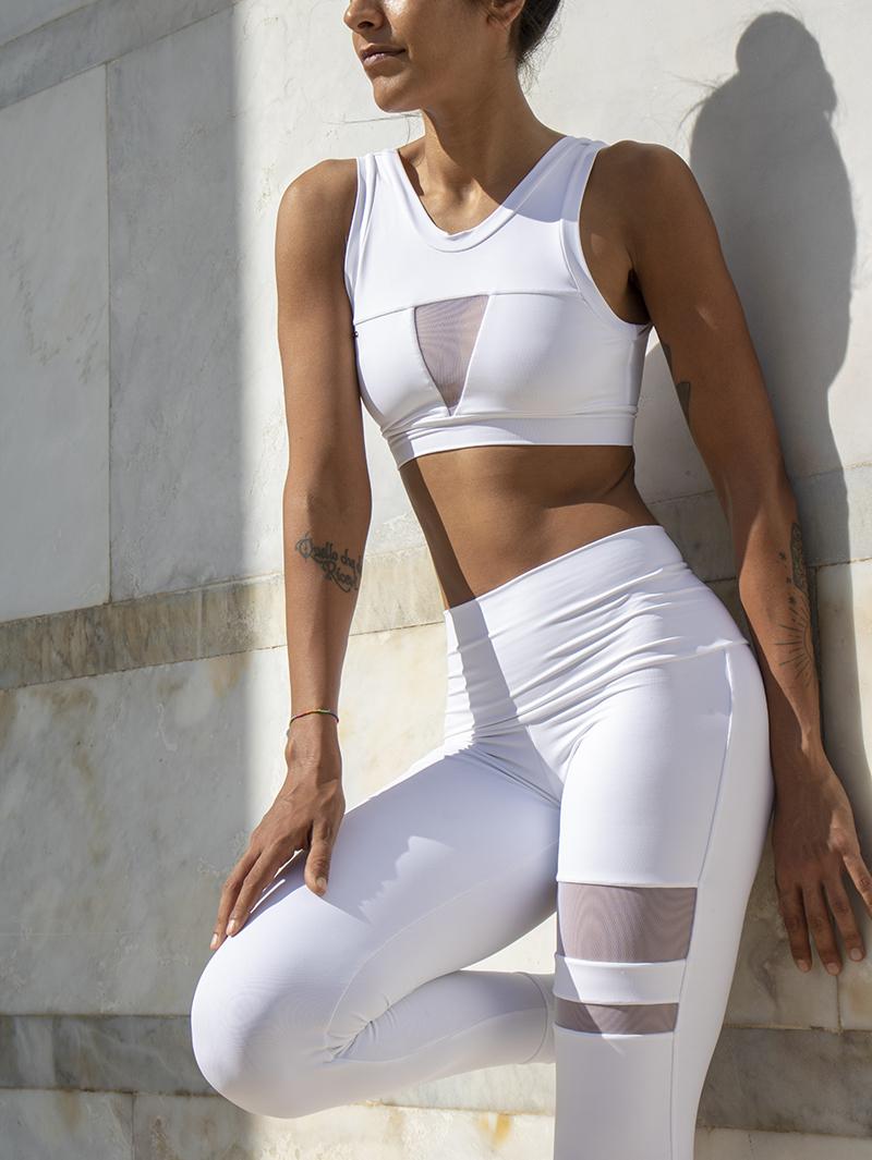 Completo Yoga Top Febe Leggings Aura Etere