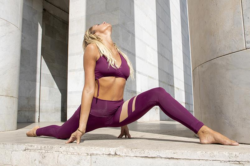 Completo Yoga Vega & Aura Fuoco