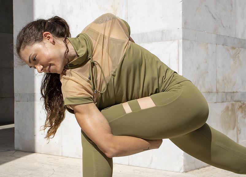 Maglia Yoga Artemide Terra