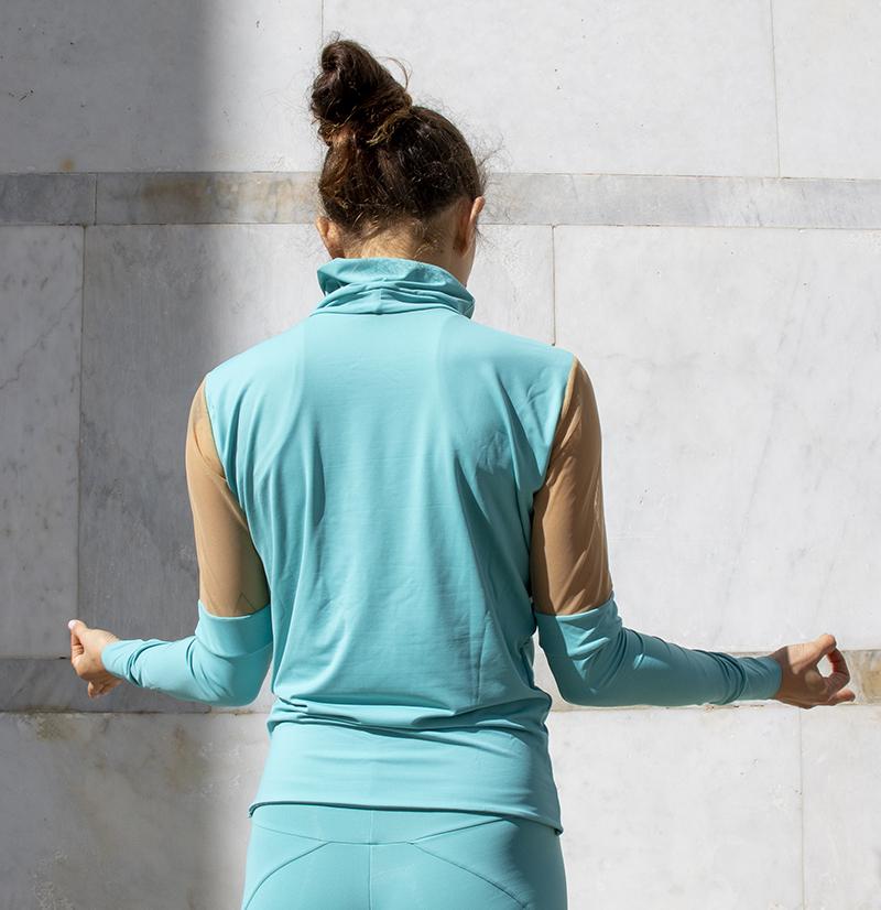 Maglia Yoga Estia Acqua
