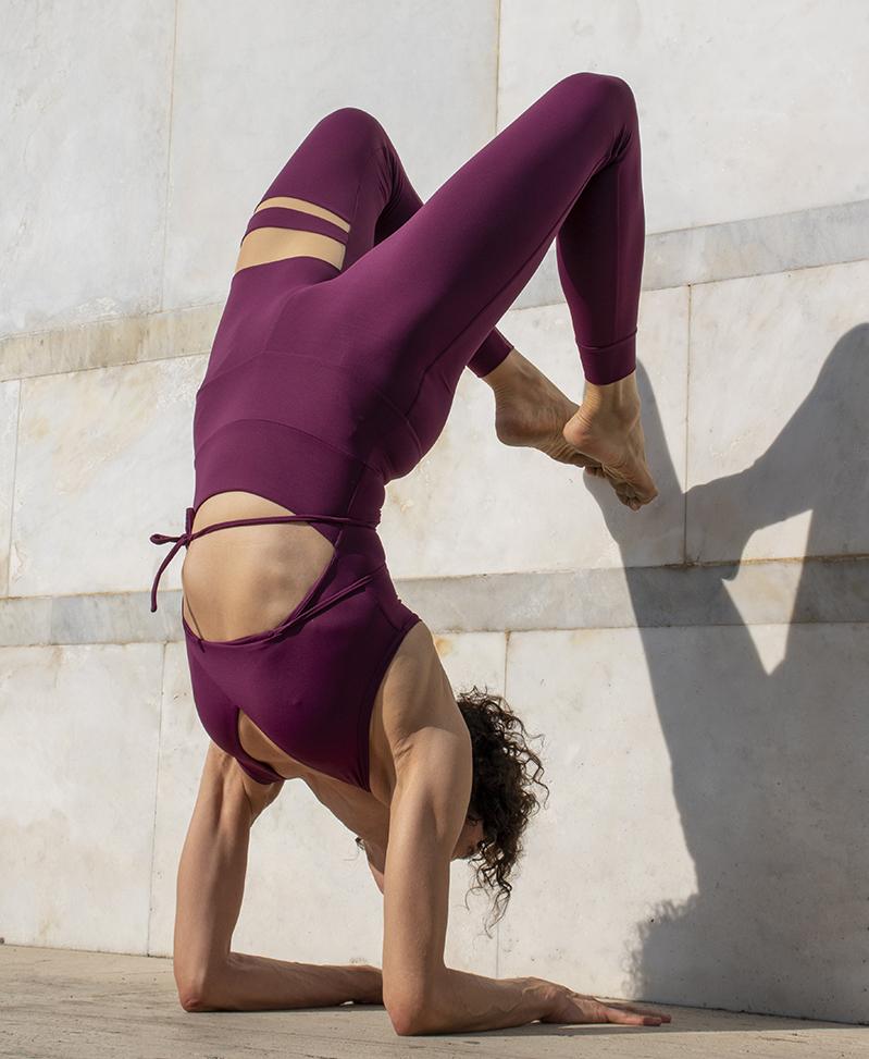 Tuta Yoga Minerva Fuoco