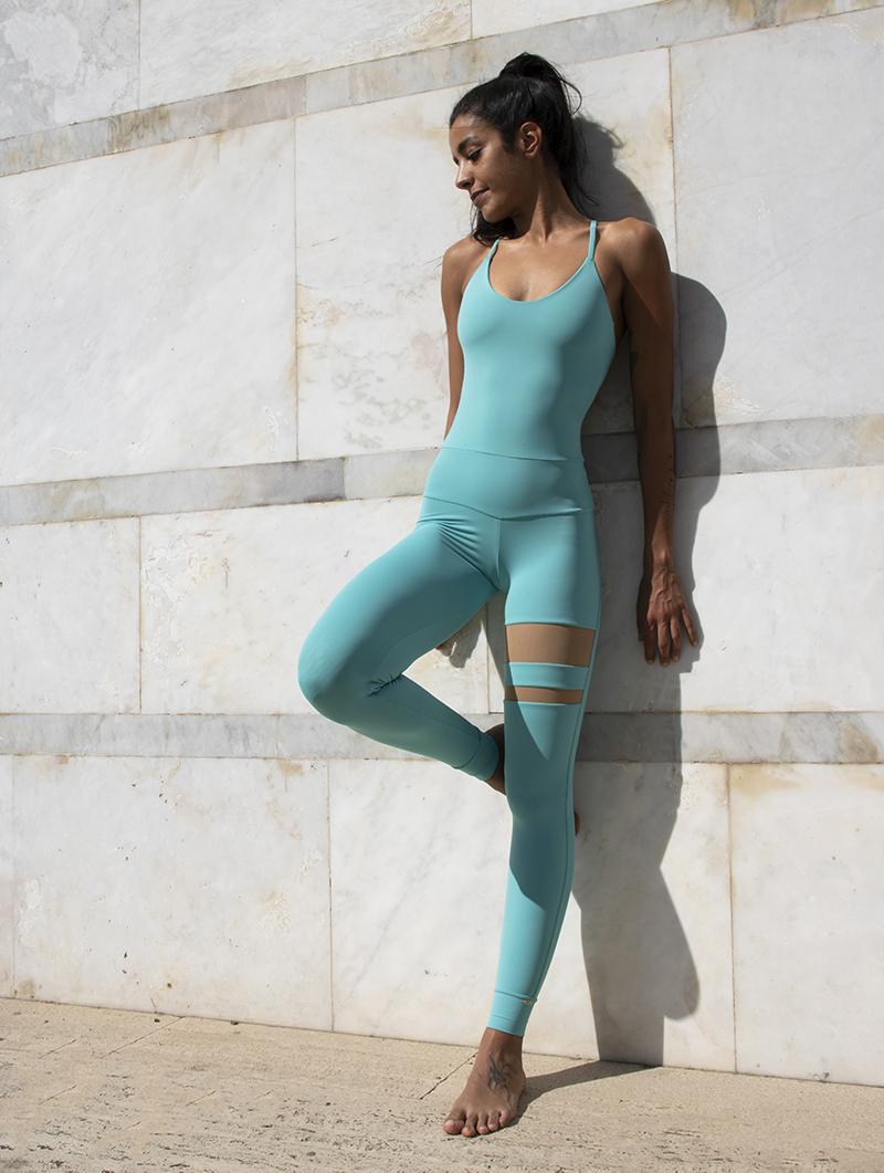 Tuta Yoga Cassandra Acqua