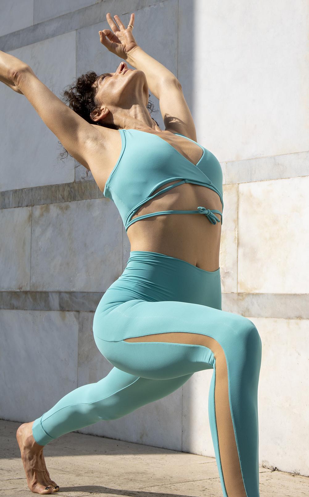 Yoga Outfit Acqua